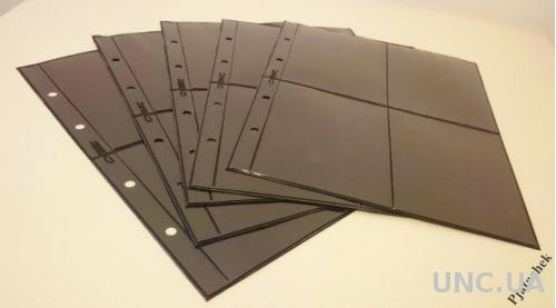 Лист двухсторонний формат Optima Оптима для бон на 2х4 карманов лист под боны, календари