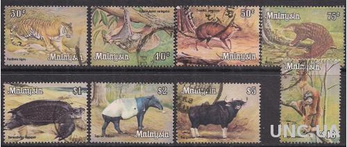 БРИТ. КОЛОНИИ MALAYSIA 1979 ПОЛНАЯ СЕРИЯ 32 ЕВРО