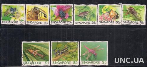 СИНГАПУР  ФАУНА 1985 19,1 евро