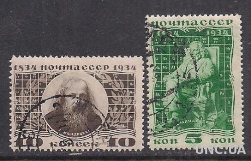 СССР 1934 МЕНДЕЛЕЕВ с клеем
