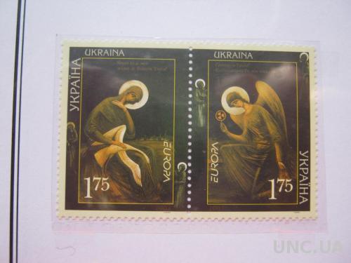 МАРКИ 2 ШТУКИ УКРАИНА.2003 ЕВРОПА .**