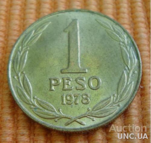 Чили 1 песо - 1978 (66)