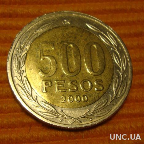 Чили 500 песо - 2000 (67)