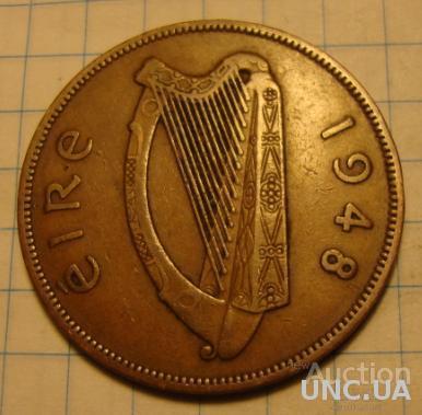 Ирландия 1 пенни - 1948 (С)