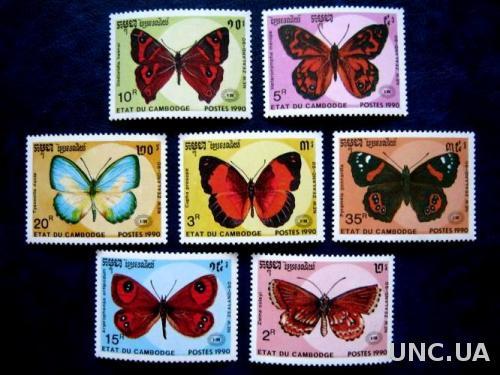 насекомые бабочки камбоджа т
