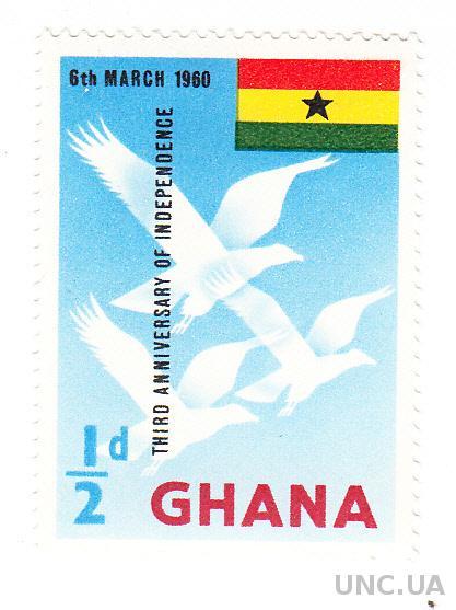 1960 Гана №73 (Michel) Стандарт**