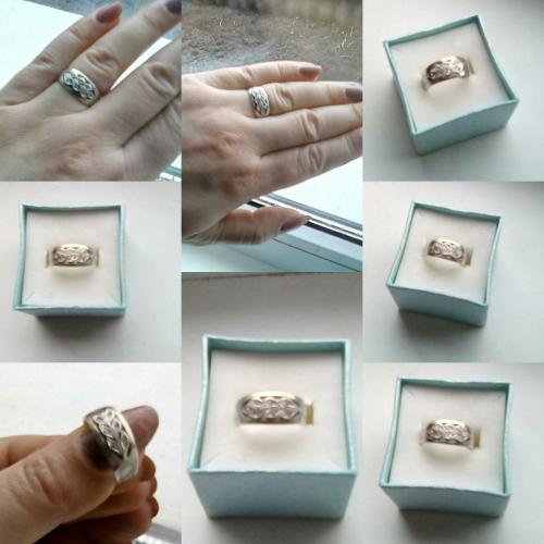 Кольца серебро, камень сапфир и цирконий цена за два 400 гривень!