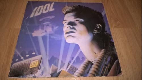 Billy Idol (Charmed Life) 1990. (LP). 12. Vinyl. Пластинка. Bootleg. NM/EX+.