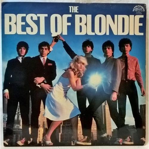Blondie - The Best Of - 1976-82. (LP). 12. Vinyl. Пластинка. Czechoslovakia.