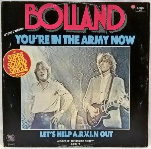 Bolland & Bolland - You're In The Army Now - 1981. (LP). 12. Vinyl. Пластинка. Germany.