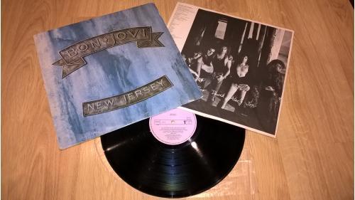 Bon Jovi (New Jersey) 1988. (LP). 12. Vinyl. Пластинка. Yougoslavia. EX+/EX+