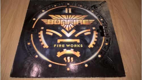 Bonfire (Fire Works) 1987. (LP). 12. Vinyl. Пластинка. Germany. NM/EX+