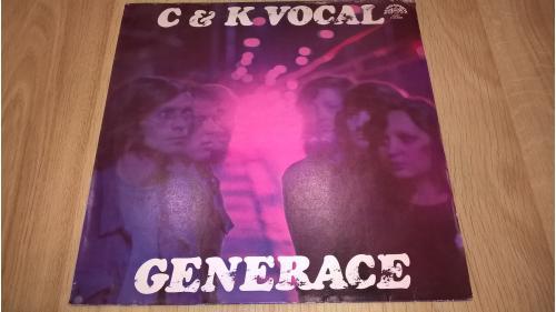 C & K Vocal (Generace) 1974-76. (LP). 12. Vinyl. Пластинка. Czechoslovakia.