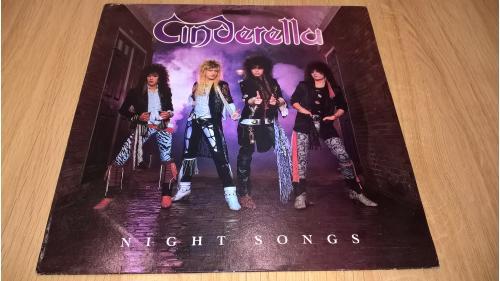Cinderella (Night Songs) 1986. (LP). 12. Vinyl. Пластинка. England. NM/NM