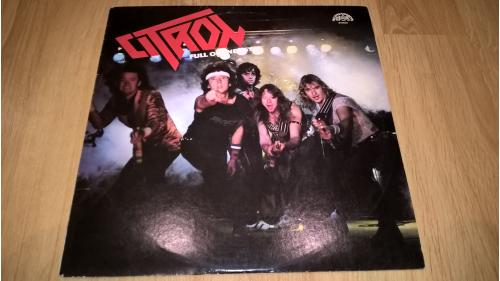 Citron (Full Of Energy) 1987. (LP). 12. Vinyl. Пластинка. Czechoslovakia. NM/ЕХ+