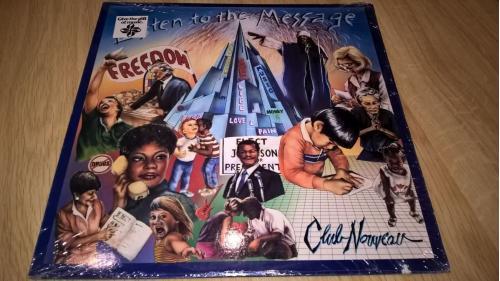 Club Nouveau (Listen To The Message) 1988. (LP). 12. Vinyl. Пластинка. USA. EX+/EX+