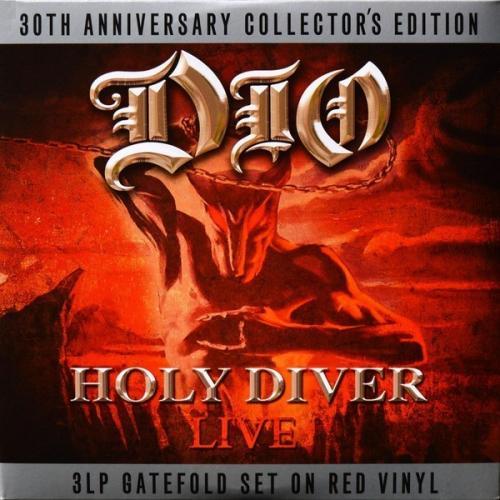 Dio (Holy Diver. Live. 30th Anniversary) 2005. (3LP). Colour Vinyl. Пластинки. England. S/S. Запечат