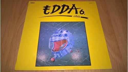Edda Muvek (Edda 6) 1986. (LP). 12. Vinyl. Пластинка. Hungary. NM/EX+