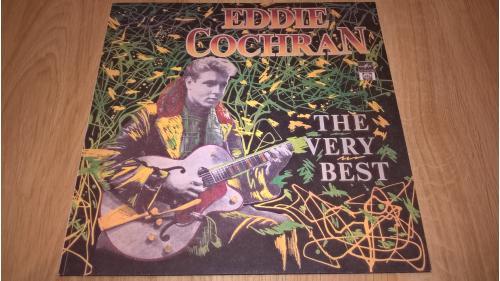 Eddie Cochran (The Very Best) 1956-60. (LP). 12. Vinyl. Пластинка. Новая. Неигранная. M (Mint).