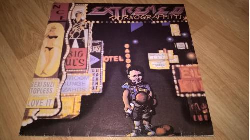 Extreme (II. Pornograffitti) 1990. (LP). 12. Vinyl. Пластинка. BRS. Ташкент. ЕХ+/ЕХ+
