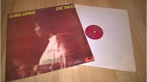 Gloria Gaynor (Love Tracks) 1978. (LP). 12. Vinyl. Пластинка. Тбилисси. Красный Лейбл. RARE. 2 000 к
