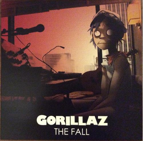 Gorillaz  (The Fall) 2010. (LP). 12. Vinyl. Пластинка. U.S.A. S/S. Запечатанное.