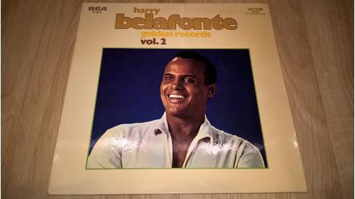 Harry Belafonte (Golden Records. Vol 2) 1974. (LP). 12. Vinyl. Пластинка. Ламинат. Germany.