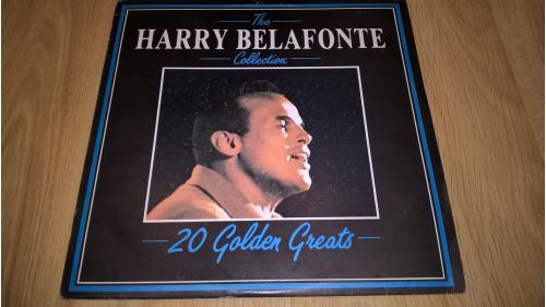 Harry Belafonte (The Collection. 20 Golden Greats) 1984. (LP). 12. Vinyl. Пластинка. Bulgaria. Mint.