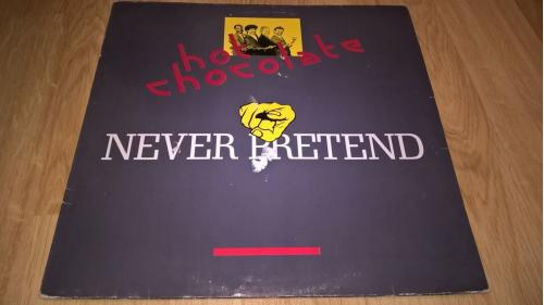 Hot Chocolate (Never Pretend) 1988. (LP). 12. Vinyl. Пластинка. Germany