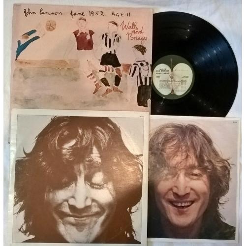 John Lennon EX Beatles - Walls And Bridges - 1974. (LP). 12. Vinyl. Пластинка. Комплект. U.S.A. Rare