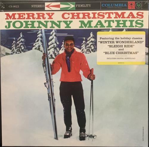 Johnny Mathis - Merry Christmas - 1958. (LP). 12. Vinyl. Пластинка. Europe. S/S. Запечатанное.