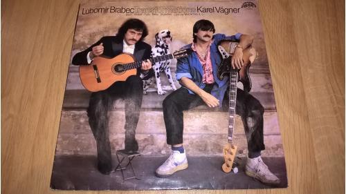 Lubomir Brabec & Karel Vagner (Transformations) 1988. (LP). 12. Vinyl. Пластинка. Czechoslovakia.
