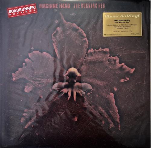Machine Head (The Burning Red) 1999. (LP). 12. Vinyl. Пластинка. Europe. S/S. Запечатанное.