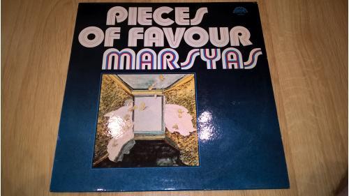 Marsyas  (Pieces Of Favour) 1981. (LP). 12. Vinyl. Пластинка. Ламинат. Czechoslovakia. ЕХ+/ЕХ+