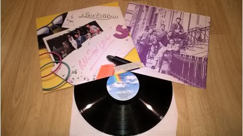 New Edition (All For Love) 1985. (LP). 12. Vinyl. Пластинка. U.S.A. EX+/EX+