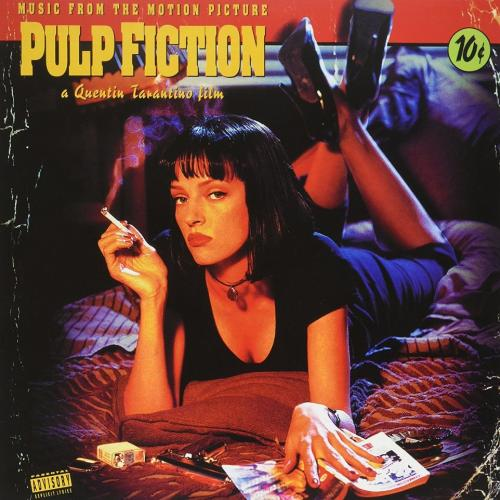 Quentin Tarantino. Pulp Fiction (Music From The Motion Picture) 1994. Пластинка. Europe. S/S.