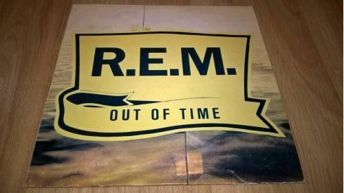 R.E.M. (Out Of Time) 1991. (LP). 12. Vinyl. Пластинка. BRS. Ташкент. NM/EX+
