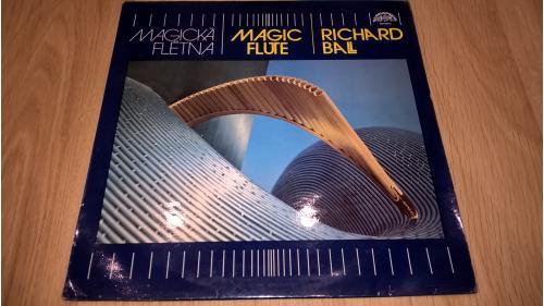 Richard Ball (Magic flute / Magicka Fletna) 1984. (LP). 12. Vinyl. Пластинка. Ламинат. Czechoslovaki