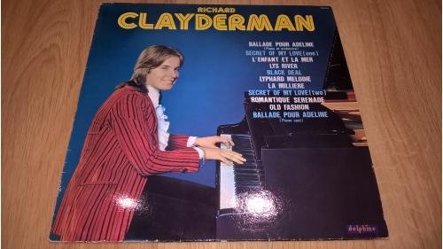 Richard Clayderman (Ballade Pour Adeline) 1977. (LP). 12. Vinyl. Пластинка. Ламинат. France.