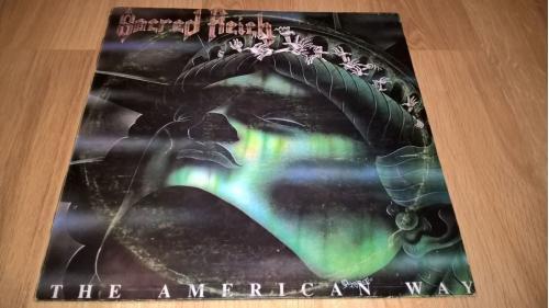 Sacred Reich (The American Way) 1990. (LP). 12. Vinyl. Пластинка. Poland. NM/EX+