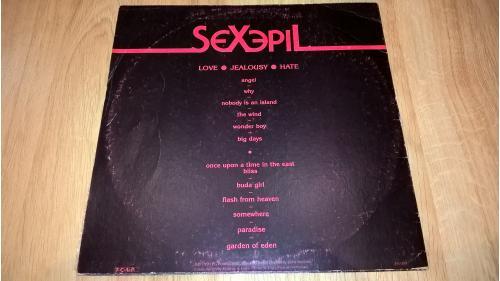 Sexepil (Love Jealousy Hate) 1990. (LP). 12. Vinyl. Пластинка. Lithuania.