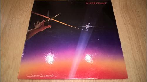 Supertramp (...Famous Last Worlds...) 1982. (LP). 12. Vinyl. Пластинка. Czechoslovakia. NM/EX+.