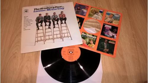 The Brothers Four (A Beatles Soundbook) 1961. (LP). 12. Vinyl. Пластинка. Ламинат. Germany.