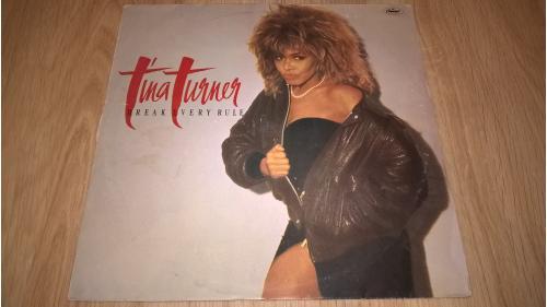 Tina Turner (Break Every Rule) 1986. (LP). 12. Vinyl. Пластинка. India.