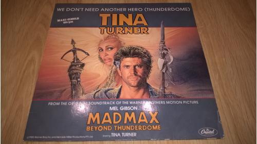 Tina Turner (We Don't Need Another Hero. Mad Max Beyond Thunderdome) 1985. (LP). 12. Vinyl. Пластинк