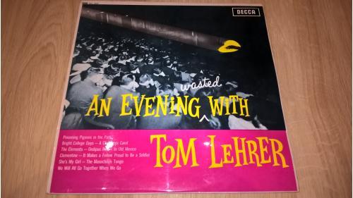 Tom Lehrer (An Evening Wasted With Tom Lehrer) 1959. (LP). 12. Vinyl. Пластинка. Ламинат. Germany.