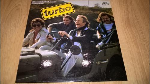 Turbo (Turbo) 1983. (LP). 12. Vinyl. Пластинка. Czechoslovakia. Ламинат. NM/EX+