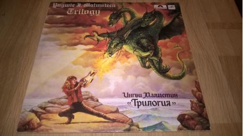 Ungwie A. Malmsteen (Trilogy) 1986. (LP). 12. Vinyl. Пластинка. NM/EX+
