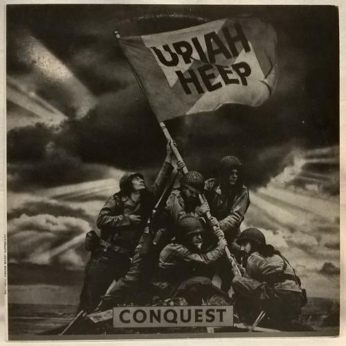 Uriah Heep (Conquest) 1980. (LP). 12. Vinyl. Пластинка. SNC Records.
