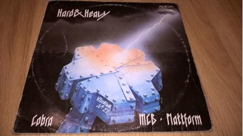 V.A Hard & Heavy Metal. Kleeblatt Nr. 22 (Cobra / Plattform / MCB) 1987. (LP). 12. Vinyl. Пластинка.